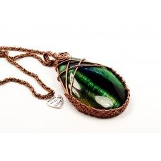 Green Tiger's Eye Droplet