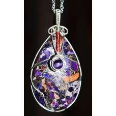 Purple Jasper in Silver