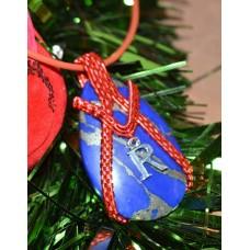 Lapis Lazuli in Red Copper