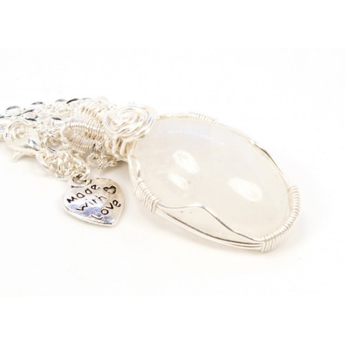 Moonstone in Silver