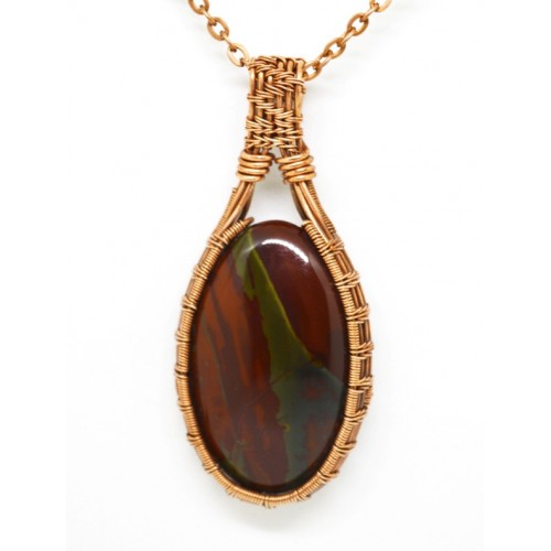 Bloodstone in Copper