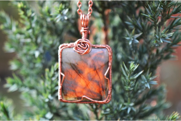 Labradorite in Copper